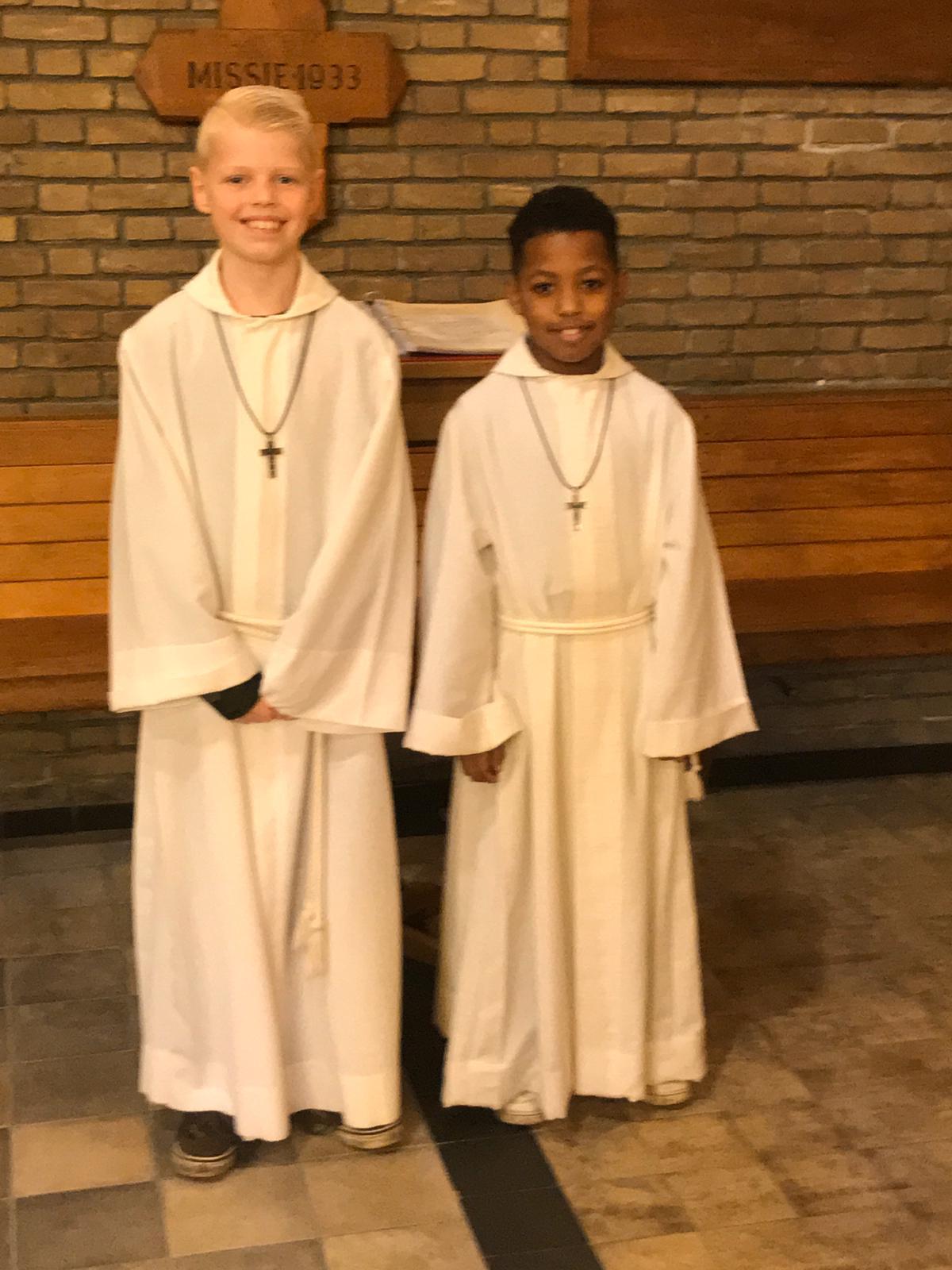 Misdienaars Willem en Jaceon
