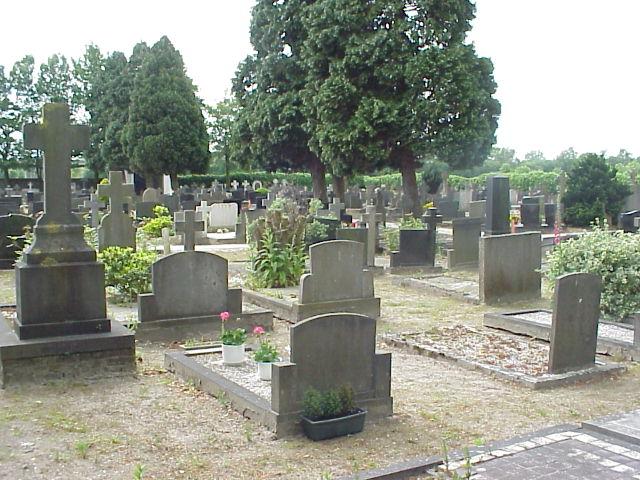 De begraafplaats 'vol'